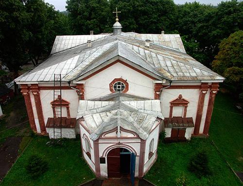 храм в Кролевце, Преображенская церковь г. Кролевец, храмы Сумщины