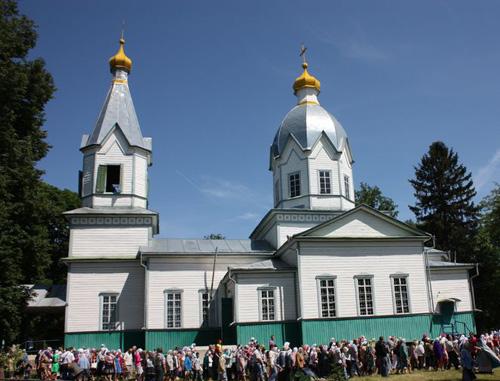 Успенский храм с. Кобыжча