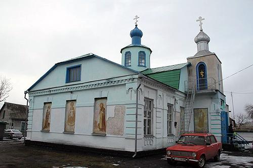 Алмазная, Казанский храм