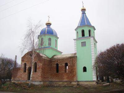 Артемовка храм
