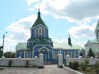 Артемовск, храм Николая