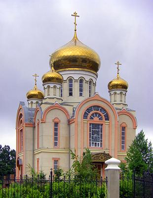 храм мученика Виктора пгт Авангард