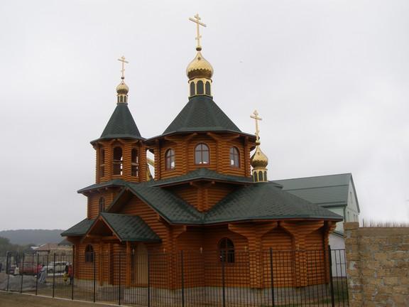 храм Амвросия Оптинского с. Белоглинка