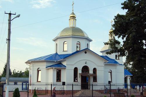 храм Царственных Страстотерпцев пгт Белокуракино