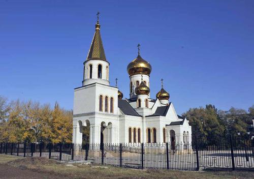 храм Бориса и Глеба г. Часов Яр