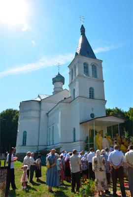 храм Святого Духа с. Чемериское