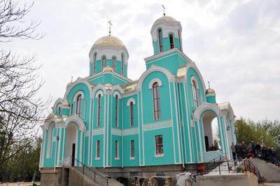 ХРАМ КАЗАНСКОЙ ИКОНЫ БОЖИЕЙ МАТЕРИ,  Чернобаевка