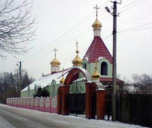 г. Долинская, храм Успения
