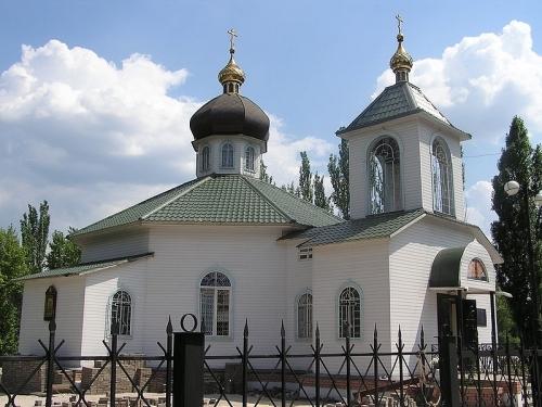 храм святителя Луки Крымского в Донецке