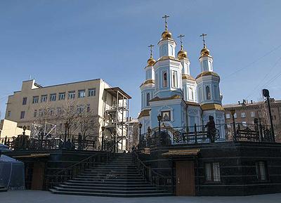 храм Козельщанской иконы г. Донецк