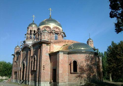 донецк храм Серафима Саровского