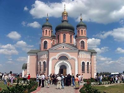 храм Георгия Победоносца с. Геническая горка