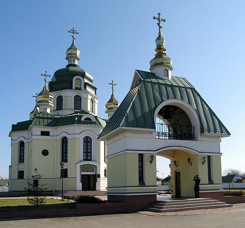 Покровская церковь с. Гребинки