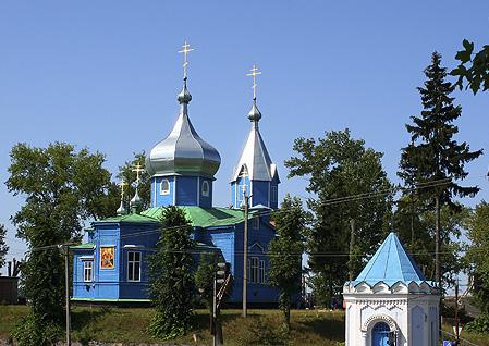 ХРАМ ВЕЛИКОМУЧЕНИКА ДИМИТРИЯ СОЛУНСКОГО С. ГРИШКОВЦЫ