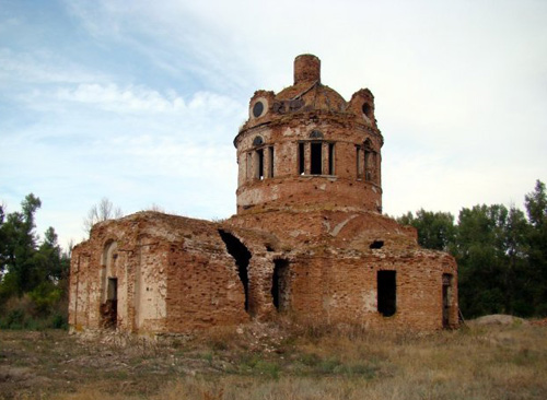 Димитровская церковь с. Булавиновка