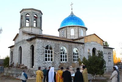 Белгород-Днестровский, храм великомученика Иоанна Сочавского