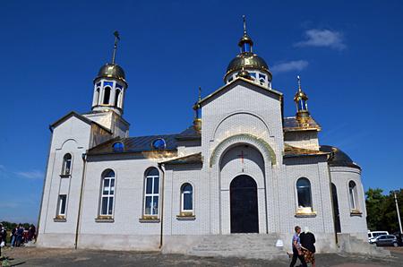 ХРАМ УСПЕНИЯ ПРЕСВЯТОЙ БОГОРОДИЦЫ  С. КАПИТАНОВКА