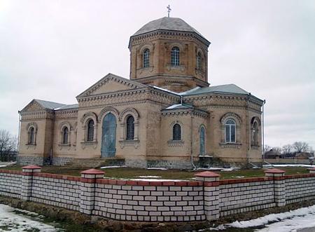 с. Кетрисановка, Троицкая церковь