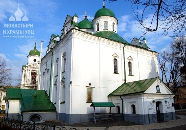 Свято-Вознесенский Флоровский монастырь на Подоле