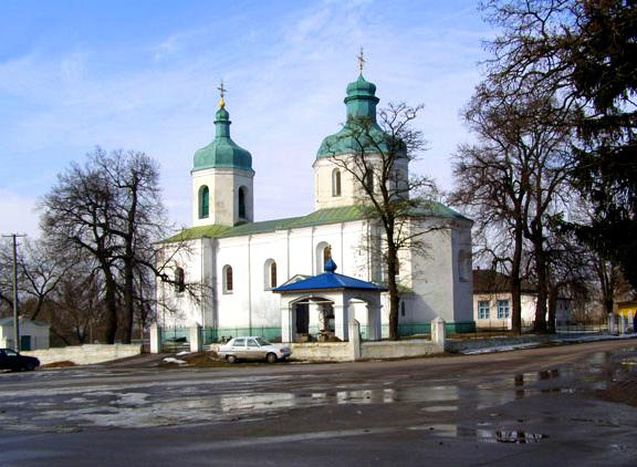 Покровский храм в Сулимовке