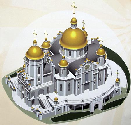 """храм на Троещине, храм иконы """"Всецарица"""", храм Агапита Печерского"""