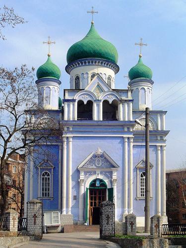 Покровский храм в Кировограде