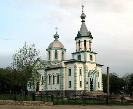 Николаевский храм, г. Кобеляки