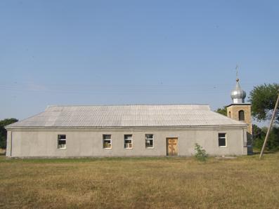 с. Красные Зорьки, храм