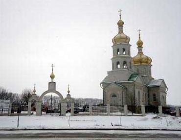 Храм преподобного Лаврентия Черниговского, г. Красный Лиман