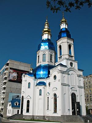 церковь на Мандрыковской