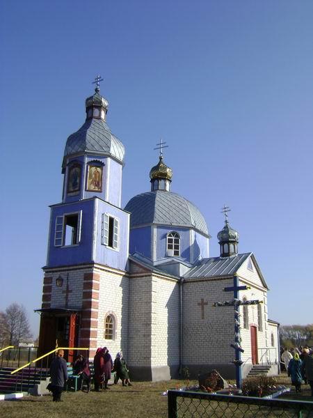 храм Казанской иконы пгт Марьяновка