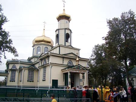храм Иоанна Богослова в Миргороде (на Лычанке)
