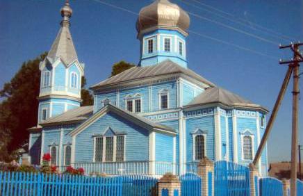 храм с. Межлесье, церква с. Міжлісся