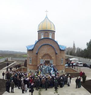 Мироновка, храм Благовещения