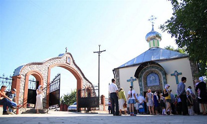 Крестовоздвиженский храм г. Никополь