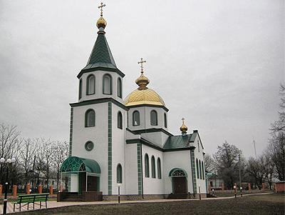 пгт Новгородка, Троицкий храм