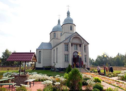 храм пророка Ильи с. Новое Залесье
