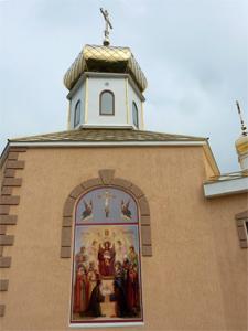 Храм г. Новомосковск