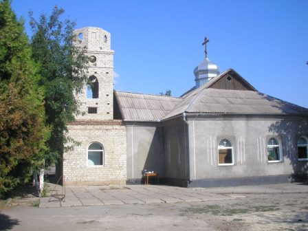 с. Новополье, храм Лаврентия Черниговского