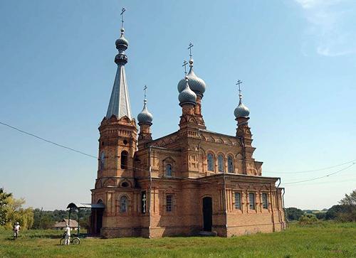 Богоявленский храм с. Обозновка