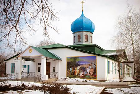 храм Петра и Павла, пос. Петровка
