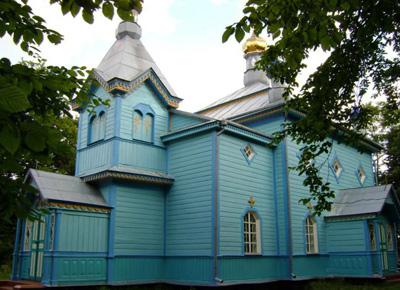 храм архистратига Михаила с. Секунь