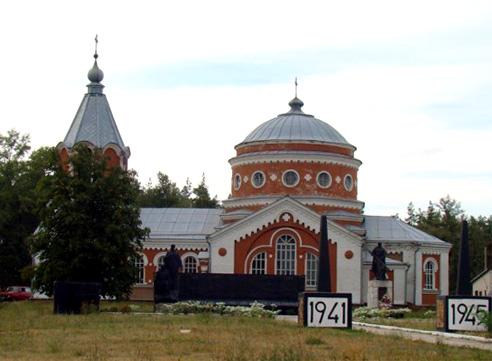 Свято-Георгиевский храм с. Рябянцево