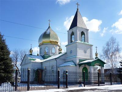 Храм, г. Синельниково