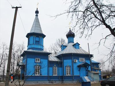 с. Сошично, храм