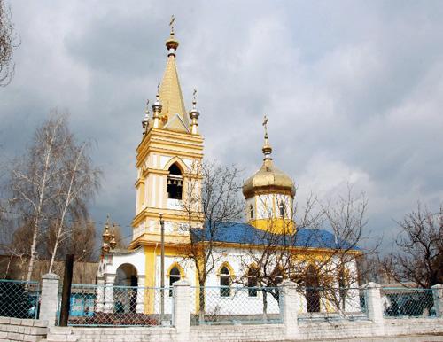 храм Николая Чудотворца Старая Игрень