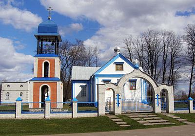 с. Старая Оржица, Успенская церковь
