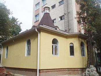 ХРАМ БЛАЖЕННОЙ КСЕНИИ ПЕТЕРБУРГСКОЙ, Сумы