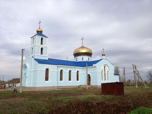 ХРАМ КАЗАНСКОЙ ИКОНЫ БОГОРОДИЦЫ С. ТАРАСОВКА