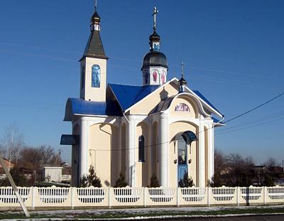 с. Успенка, Успенская Церковь